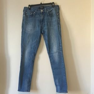 PACSUN Light Wash 31 x 30 Skinny Jeans